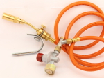 Hot Head Burner Set with adjustable 0.5 - 4 bar Propane Regulator
