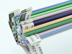 Effetre pastel stringer 20 colours 1 metre of each colour approx. 287 gram