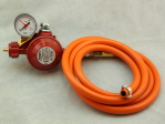 Hose Set for Two-Gas-Burners without Oxygen Hose