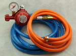 Hose Set for Two-Gas-Burners